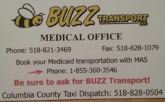 Buzz Transport, LLC.  Medical and Taxi Services