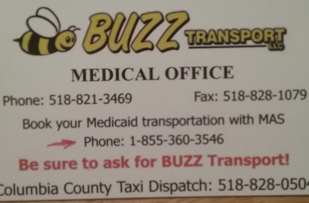 Medical Medicaid Transportation from Albany to NYC.  Taxi Service in Columbia & Greene Counties.