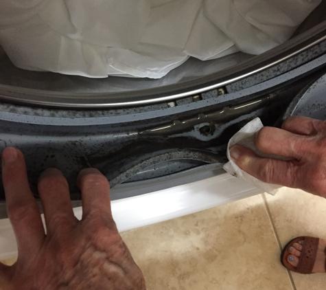Sears Appliance Repair - Las Vegas, NV. Black moldy looking goop