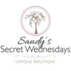 Sandy's Secret Wednesdays