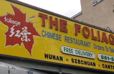 The Foliage Chinese Restaurant - West New York, NJ