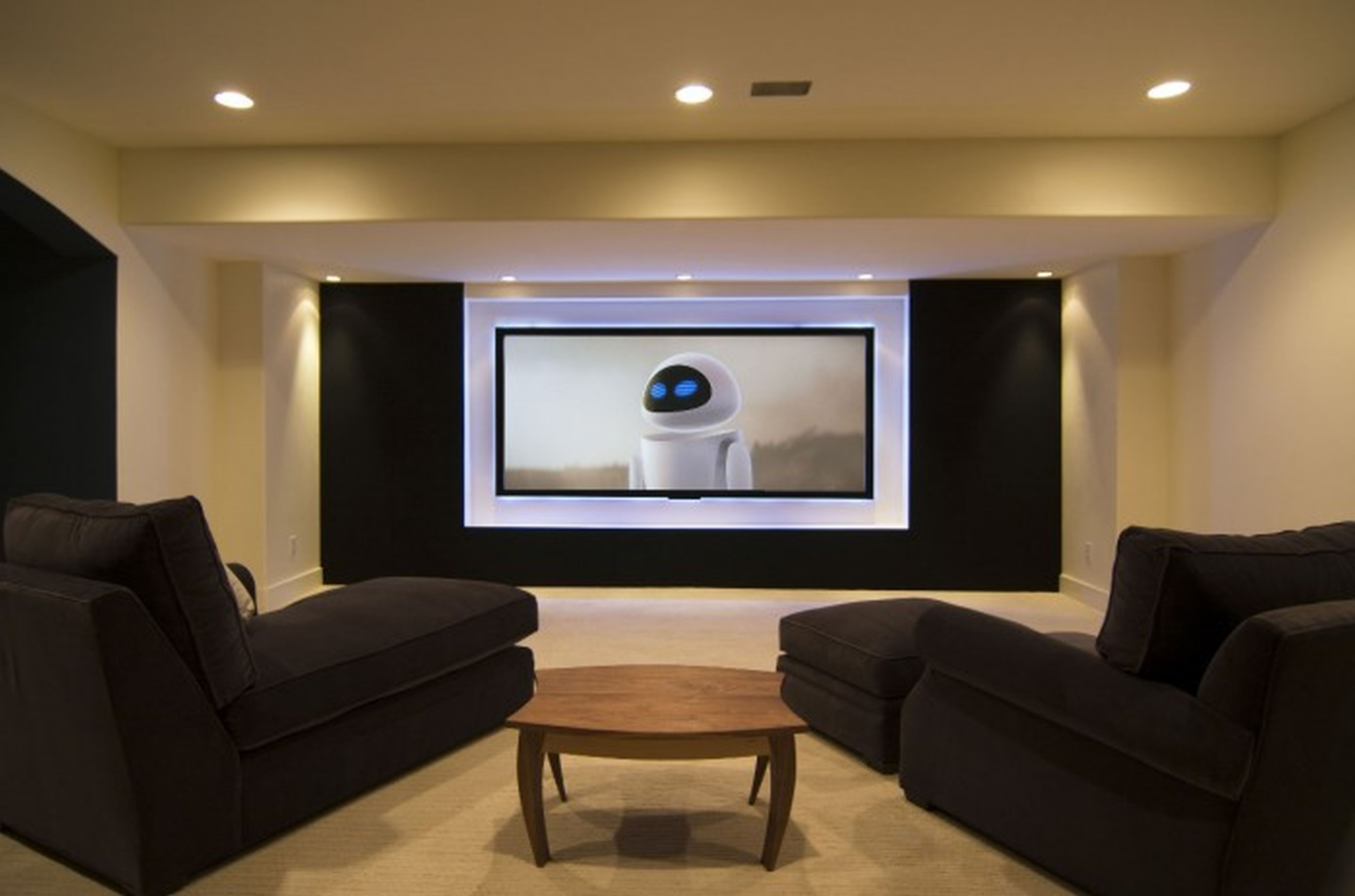 Basement home theater ideas basement home theater with workout gym