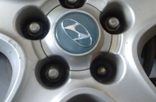 My wheel stud damaged lugg nut missing