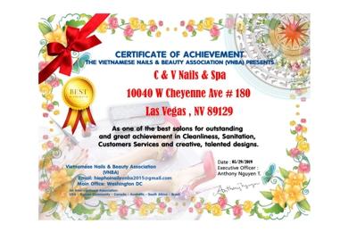 C & V Nails & Spa - Las Vegas, NV