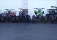 Hillbillies Atv's & Power Sports - Sevierville, TN. Atv's- 5 different sizes