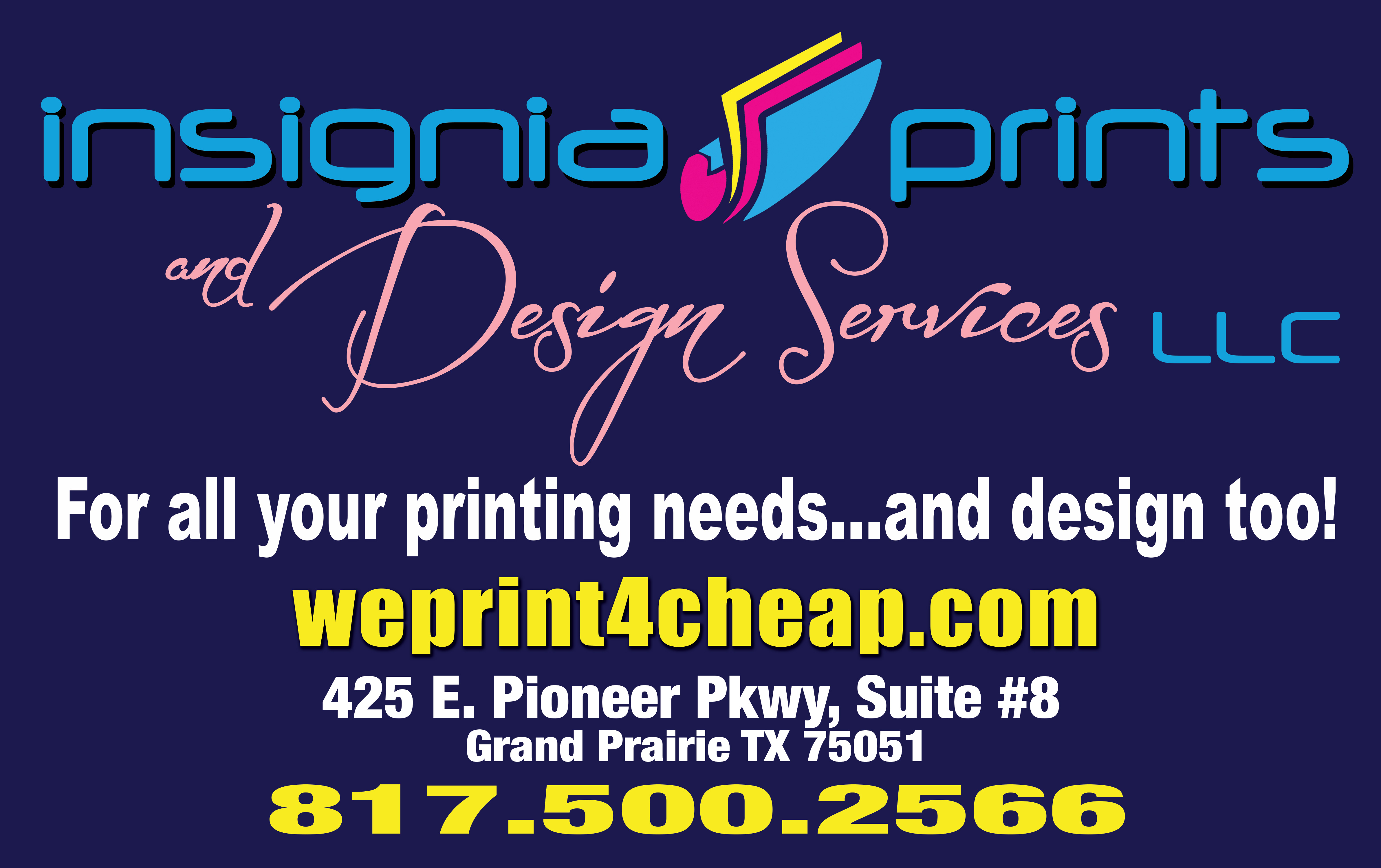 Insignia Prints and Design Services LLC Grand Prairie TX