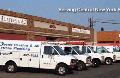 Potter Heating & Air Conditioning-Perrone Plumbing - Syracuse, NY