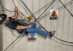 Rigging International Group - Las Vegas, NV. Rope access training in Las Vegas.