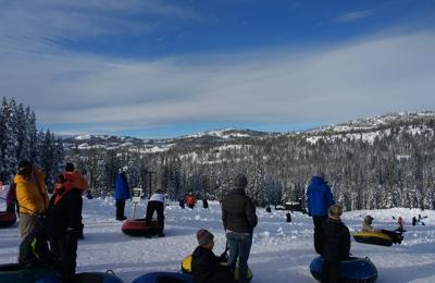Boreal Mountain Resort. Great view, reasonable lines, super fun tube runs!