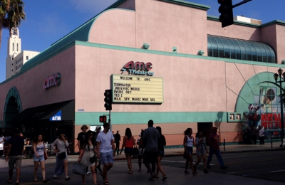 AMC Theaters - Santa Monica, CA. View from Third St