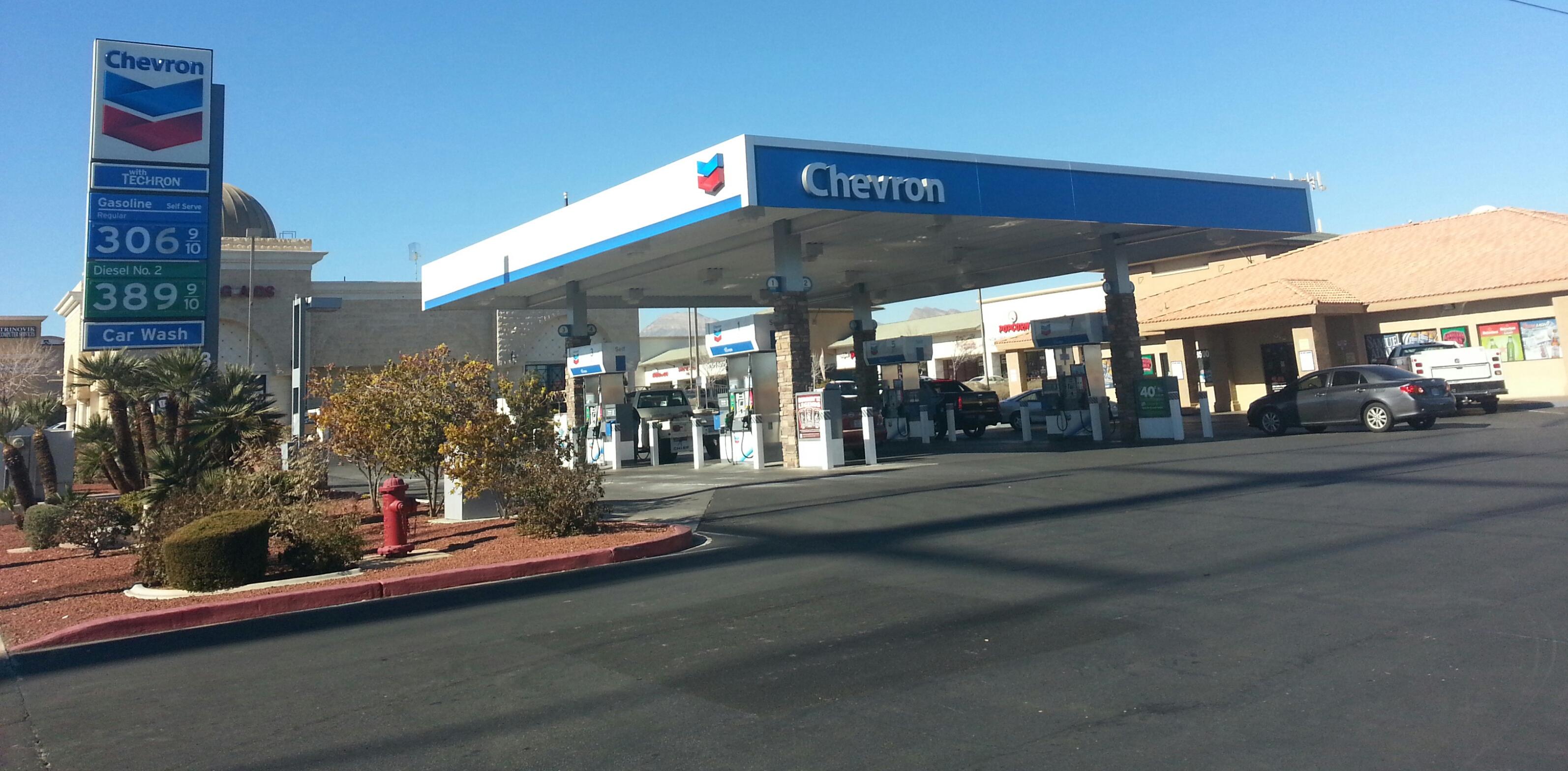 Red Rock Chevron 8500 W Charleston Blvd Las Vegas NV YP