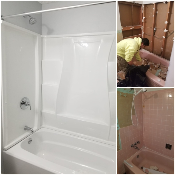 Jose's painting and Handyman services - Cincinnati, OH. Bathroom Remodeling
