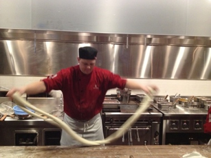 Noodle-Making at M.Y. China in San Francisco, CA