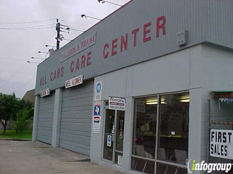 ALL CAR CARE CTR BODY SHOP