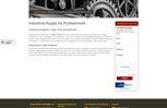 Richmond Supply industrial supply website built on Magento
