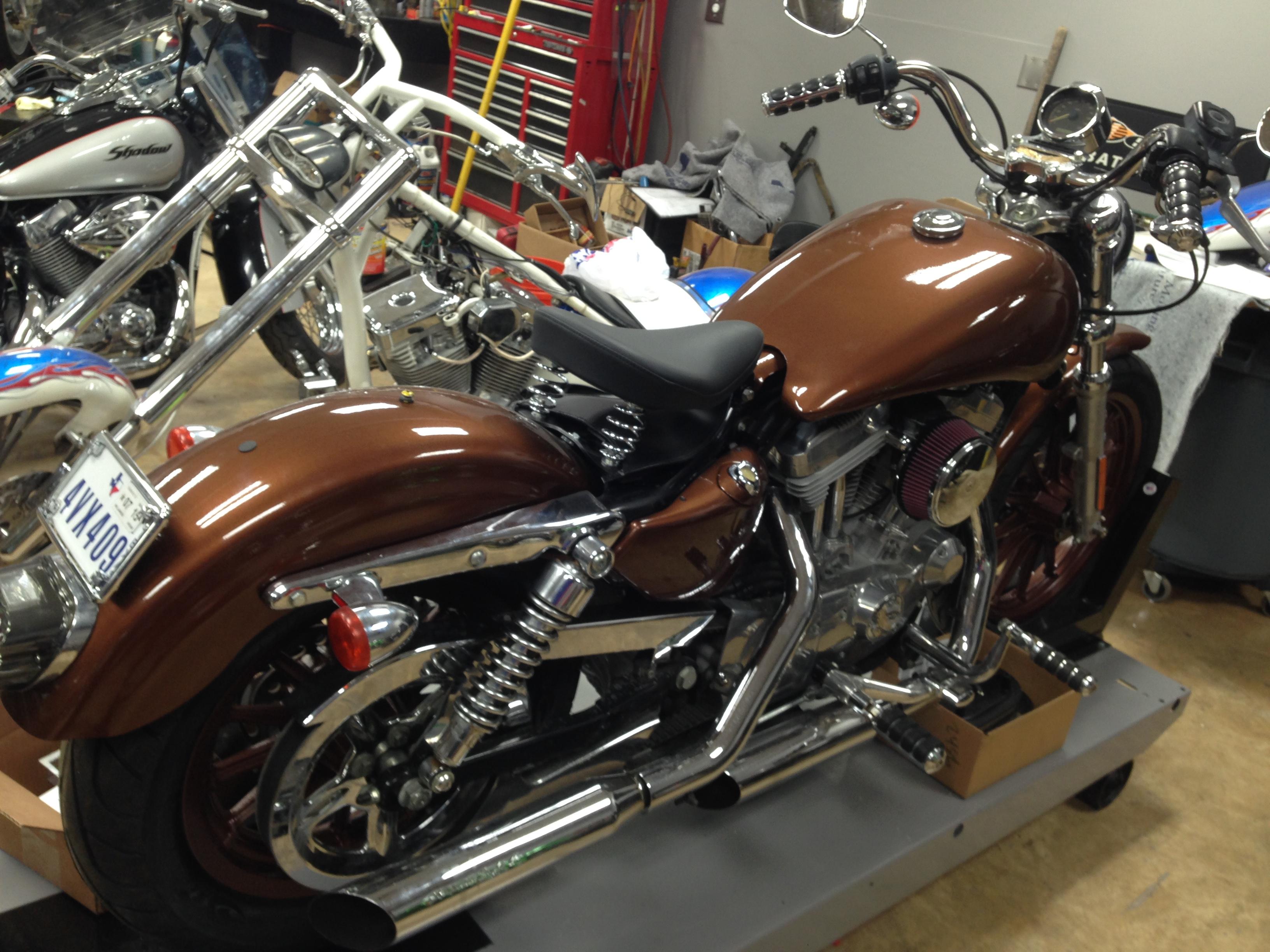 windridge coatings the best way to spray paint a motorcycle frame - Motorcycle Frame Paint