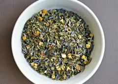 Dragonfly Botanica Apothecary & Teas - Melbourne, FL. Chamomile and Lavender Blend Tea...one of our most popular for relaxing