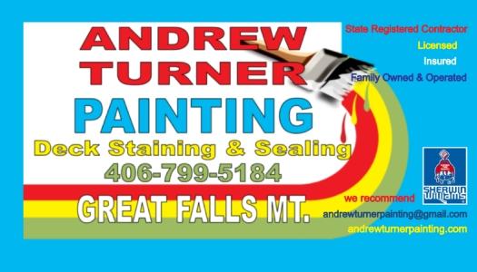 Andrew Turner Painting 300 Smelter Ave Ne Ste 124 Great Falls Mt 59404 Yp Com