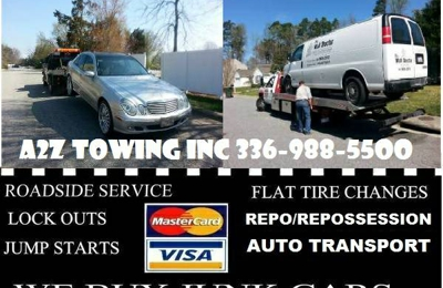 A 2 Z TOWING - Greensboro, NC