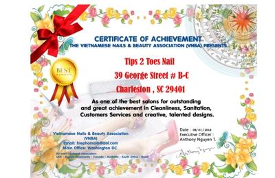 Tips -2- Toes - Charleston, SC