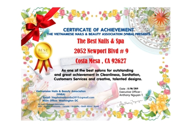 The Best Nails & Spa - Costa Mesa, CA
