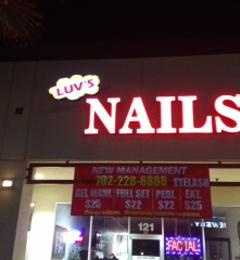 LUV's NAILS - Las Vegas, NV