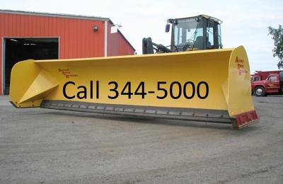 ASR Services - Anchorage, AK. AKPLOW  loader pusher