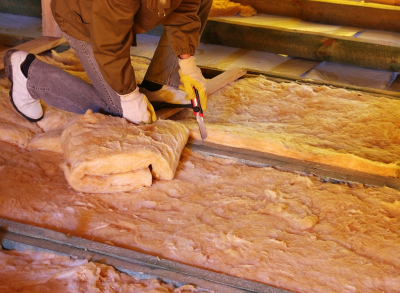 Batts are a good choice for attic insulation.