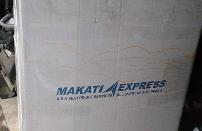 Makati Express Cargo - Jersey City, NJ. Ito na sya buo pa rin