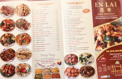 Enlai Chinese Restaurant 2356 Essington Rd Joliet Il 60435