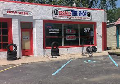 Edgar's Tire Shop 4108 Madison Ave, indianapolis, IN 46227