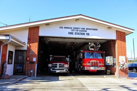 Los Angeles County Fire Department Station 116 755 E