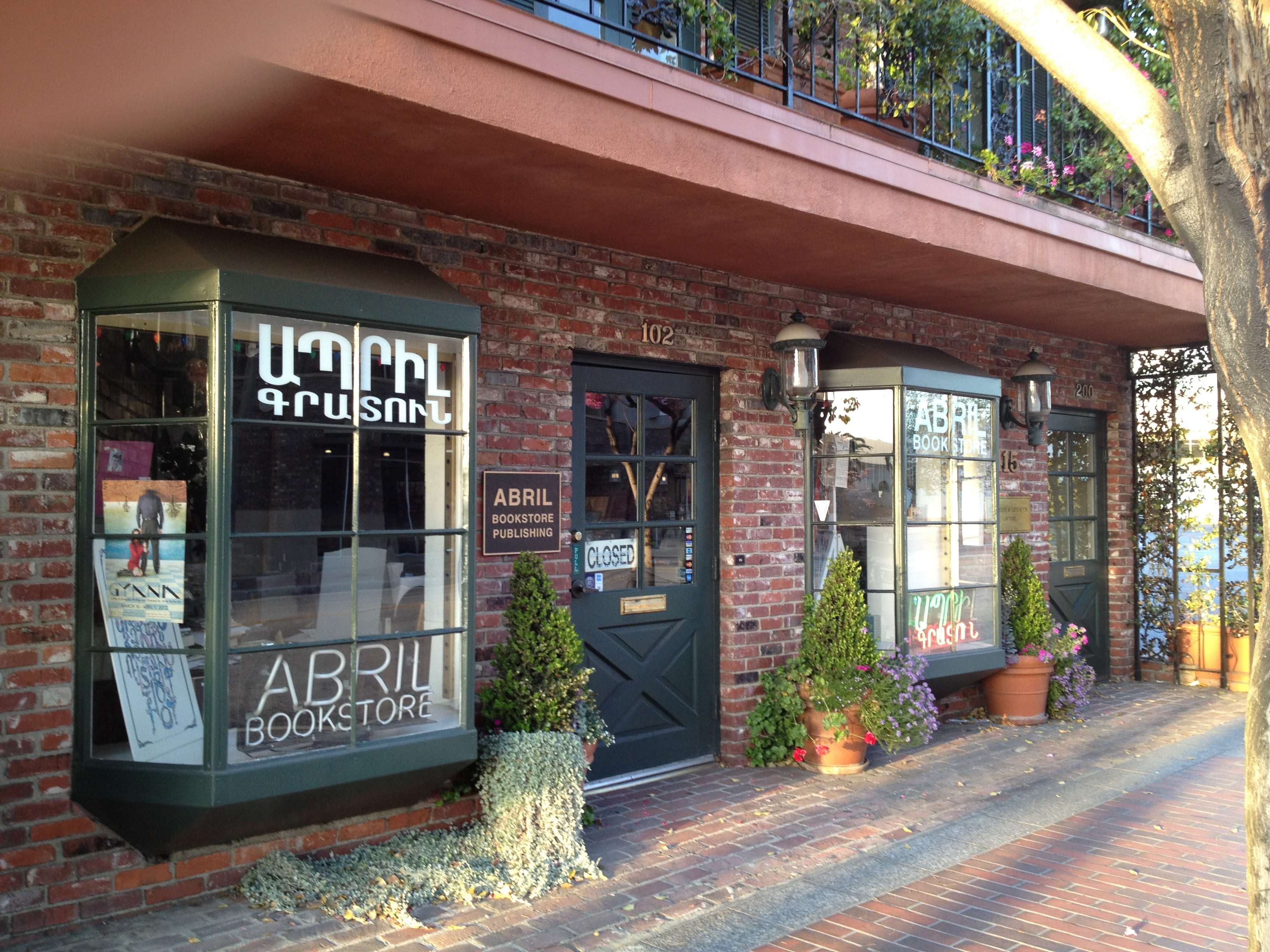 Abril Armenian Book Store 415 E Broadway Ste 102, Glendale