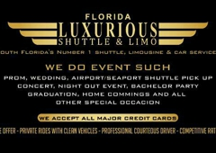 Luxurious Shuttle Service - Fort Lauderdale, FL
