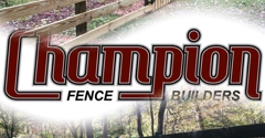 Champion Fence Builders Charlotte Nc 4 Rail Wood