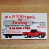 M&D Towing & Recovery