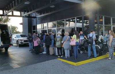 Signature Rent-A-Car - Orlando, FL. The look outside.