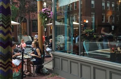 Orinoco Restaurant - Boston, MA. Nice al fresco dining.