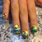 T&T Nails Spa - Saint Louis, MO. Hand designed by Jessica
