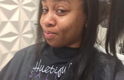 the color spot salon - Atlanta, GA. LaShea going to work on this hair of mine. (Smiles)