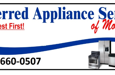 Preferred Appliance Service of Mooresville - Mooresville, NC