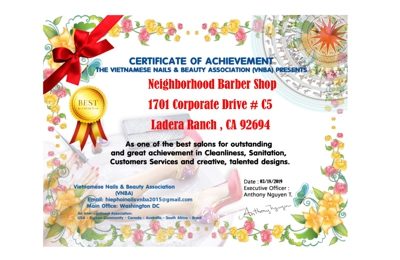 Neighborhood Barbershop & Salon - Ladera Ranch, CA