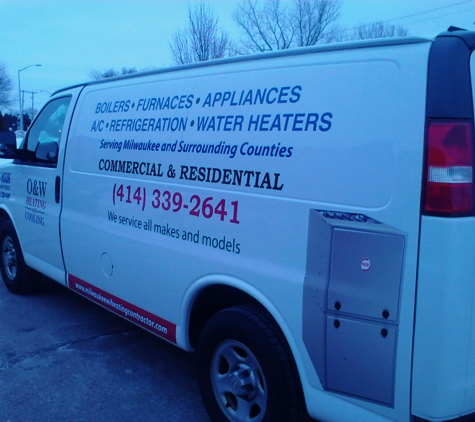 O & W Heating & Cooling HVAC & Appliance - Milwaukee, WI