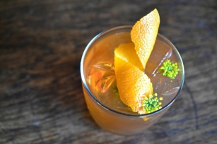 Recipe for Billy the Kid Cocktail at E&O Kitchen and Bar in San Francisco, CA