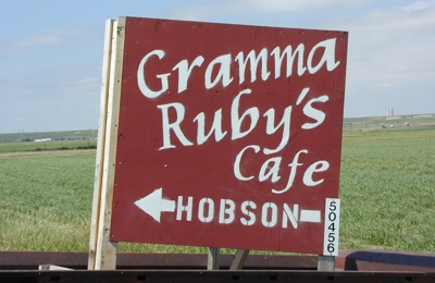 Gramma Ruby's Cafe - Hobson, MT