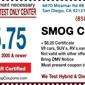 Lo Sieu Smog Test - San Diego, CA