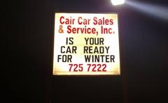Cair Car Sales & Services Inc