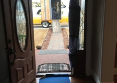 Carolina Moving Solutions - Lamar, SC. Rug runner to the front dooor