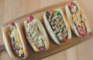 Gourmet Hot Dogs at Rye Project in San Francisco, CA