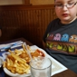 Darrell's Place - Middleport, NY. His first fish fry ever. We went to Darrell's Place. He loved it!!!